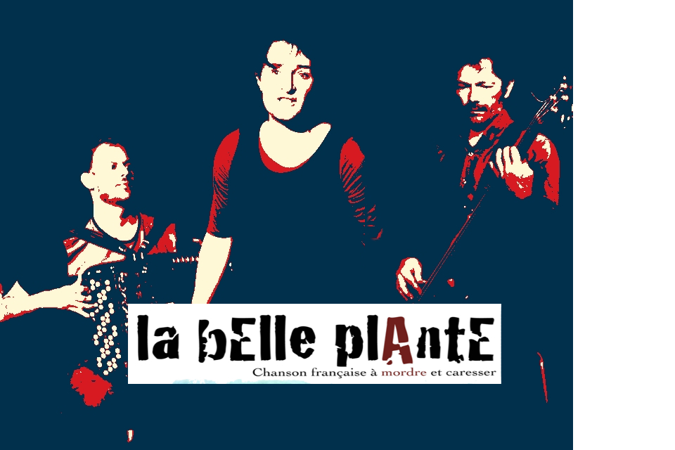 photo concert La bElle plAntE Trio  mai 2019